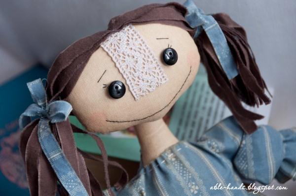 как тонировать куклу