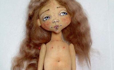 МК: простая кукла из ткани