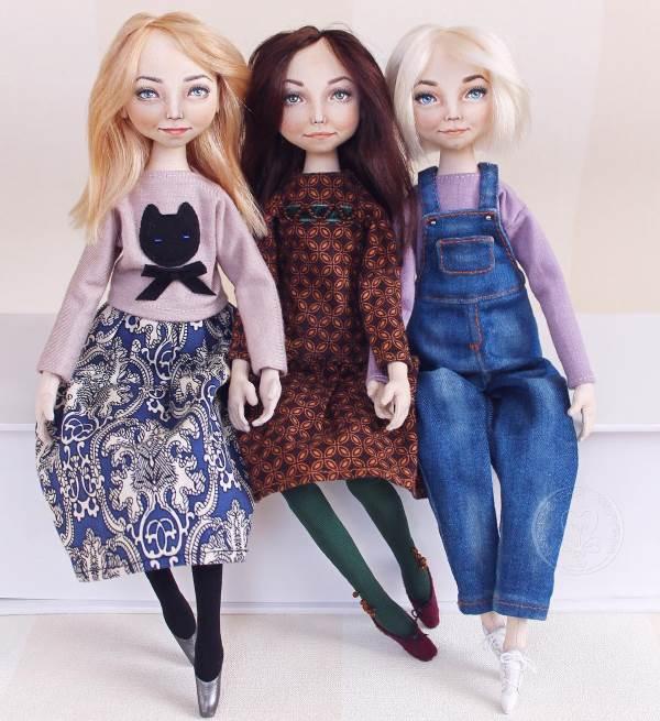 Куклы Елены Хайдуковой