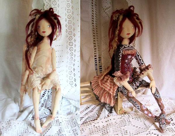 кукла Татьяны Качалиной