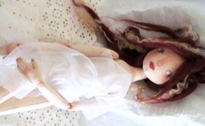 Авторская выкройка шарнирной куклы Татьяны Качалиной