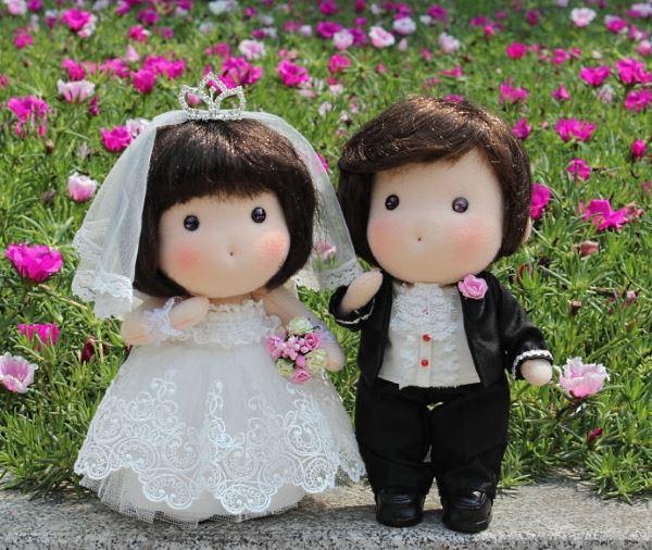 свадебные куколки