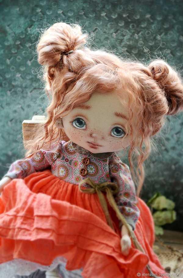 кукла из ткани фото