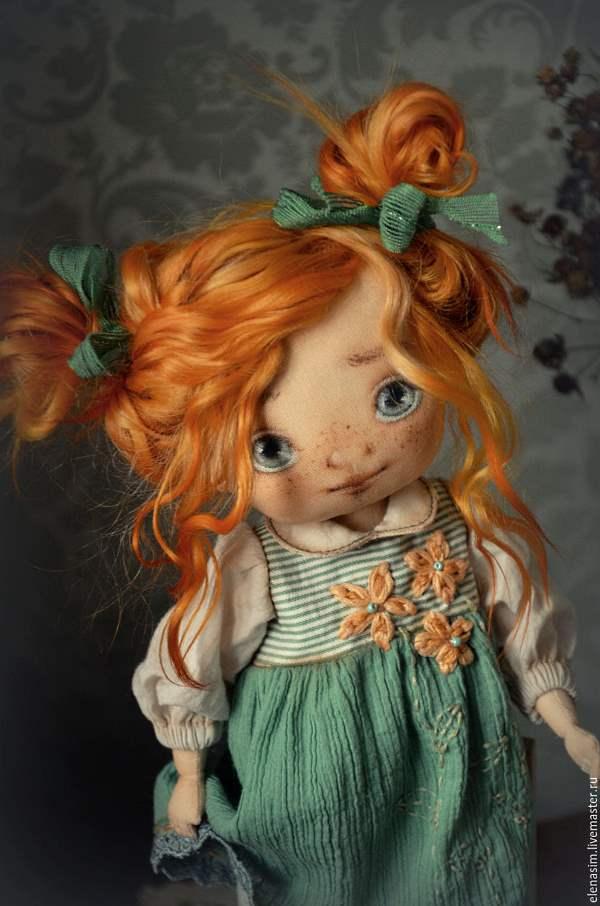 Куклы из ткани фото