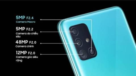 Fotocamera Samsung Galaxy A51