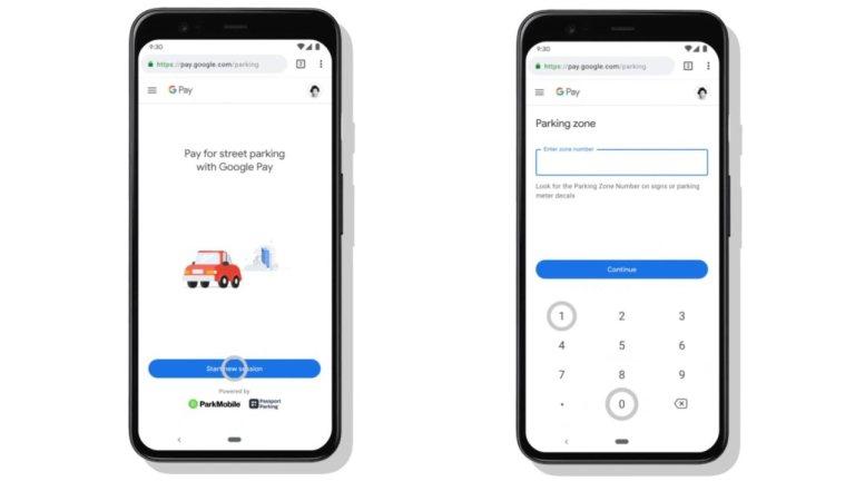 pagare il parcheggio con Google Maps