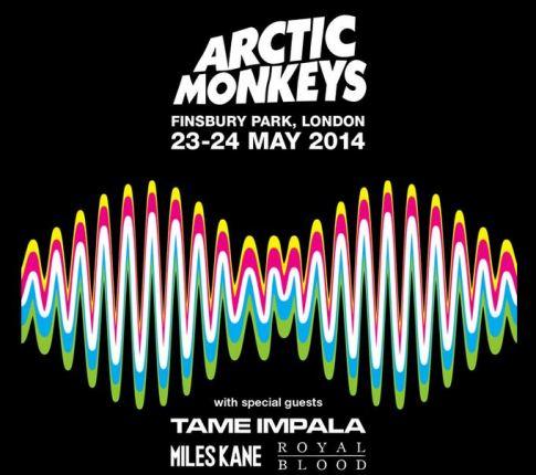 Arctic Monkeys gigs May 2014