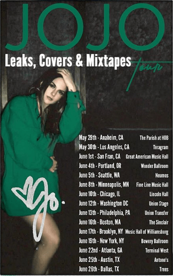 jojo tour dates