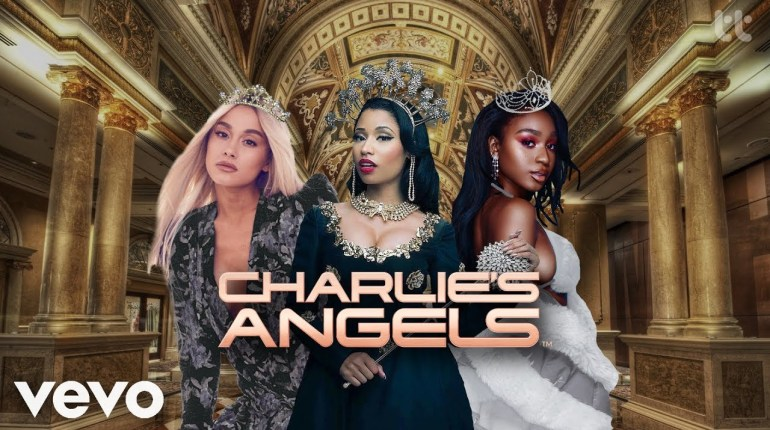 bad to you charlies angels ariana grande