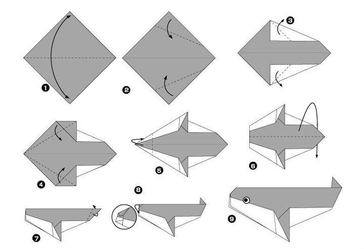Біртіндеп құрастыру-оригами
