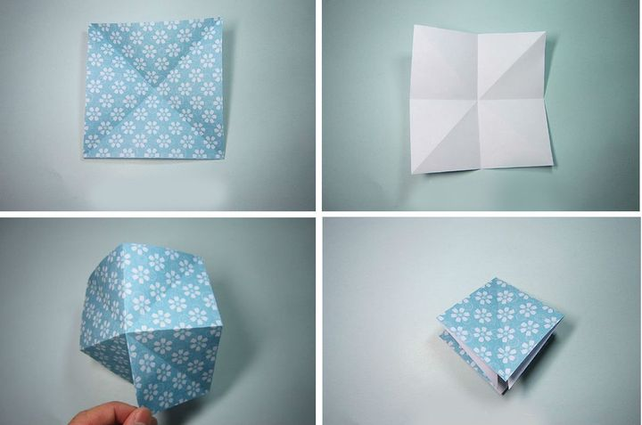 Оригами қағазы шыршасы