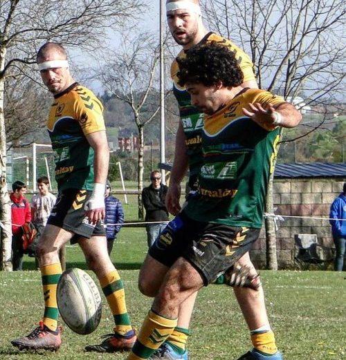 Debut de David Caso y Alex Suárez en el Belenos Rugby Club