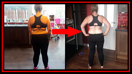 Kelly Before and After Bootcamp