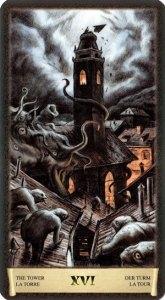 16 Башня Таро Черный Гримуар