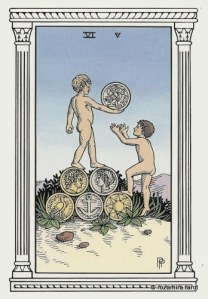 Алхимическое Таро 6 Монет