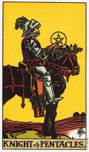 Трактовка карты Таро Рыцарь Пентаклей