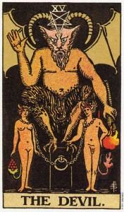 Трактовка Старшего Аркана Колесо Дьявол