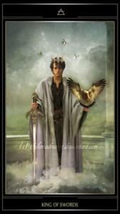 Таро Телема карта Король Мечей