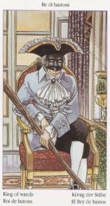 Таро Казановы изображение карты Король Жезлов