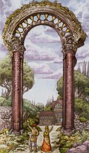 Таро Царство Фэнтези изображение 10 Кубков