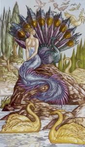 Таро Царство Фэнтези изображение 9 Пентаклей