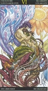 Таро Царство Фэнтези аркан 6 Влюбленные