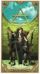 Король мечей Таро Ночного Солнца
