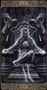 4-Император-Таро-Призраков-Старший-Аркан