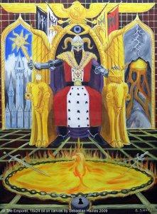 Аркан 4 Император The Golden Serpent Tarot