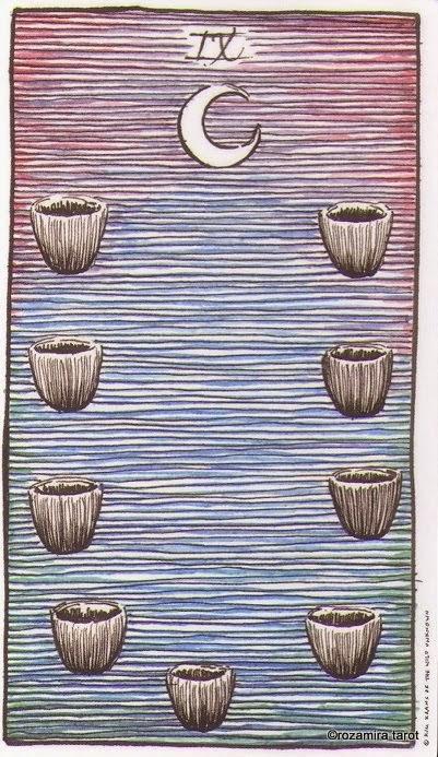 9 Кубков Дикое Неизвестное Таро