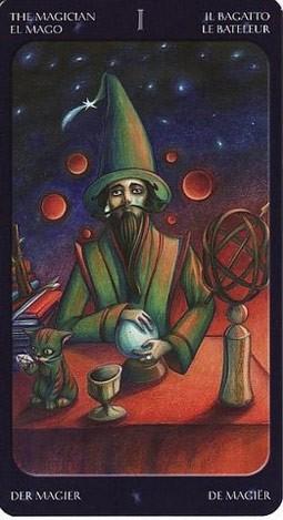 1 Маг (The Magician) Таро Семи Звезд (Mystical Manga Tarot)
