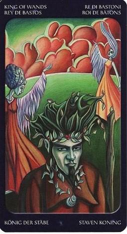 король Жезлов Таро Сладкие Сумерки (Tarot of the Sweet Twilight)