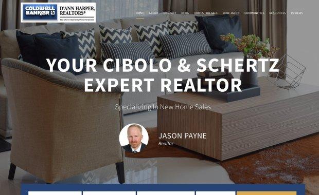 Local San Antonio Realtor Business Website