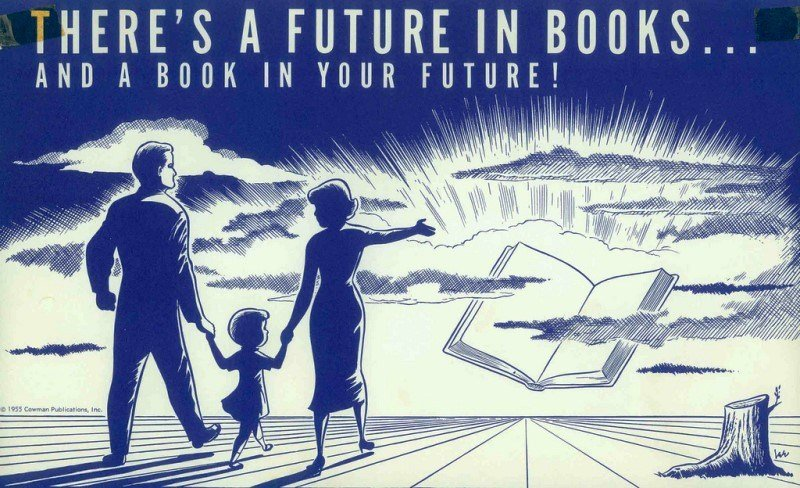 Image result for vintage library posters