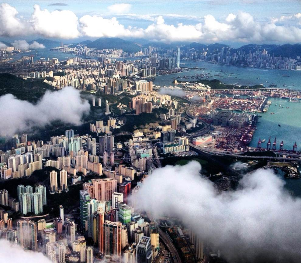 Hong Kong Aerial Photograph