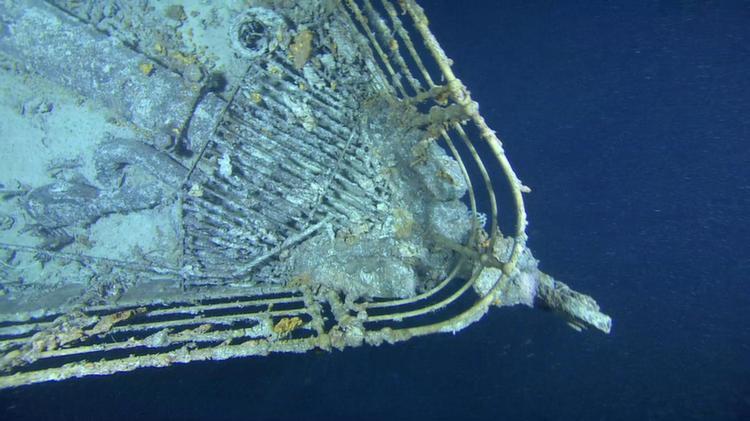 Sunken Ships Britannic Front