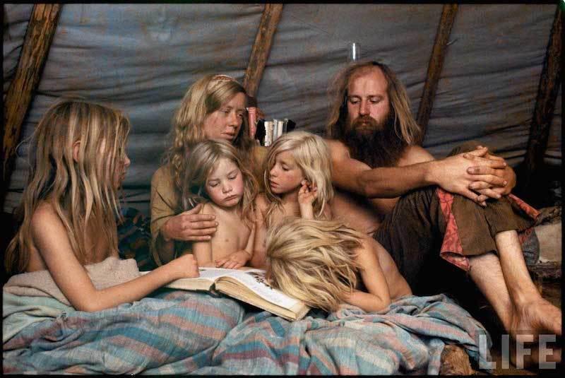 Hippi stílus, hippi kultúra, hippi kommuna
