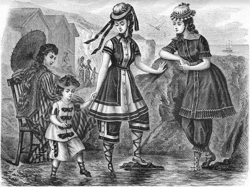 1876 Costumi da bagno