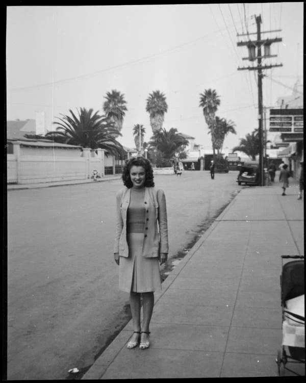 Norma Jeane Streetside