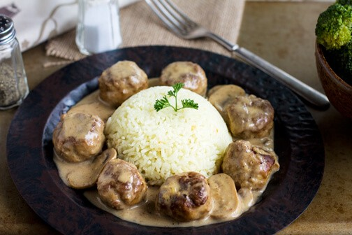 Meatballs Stroganoff - All that's Jas