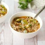 Mediterranean Pepper Soup- All that's Jas