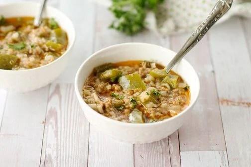 Mediterranean Pepper Soup- All that's Jas