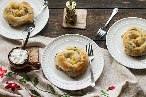Meat Pie with Homemade Phyllo Dough – Burek