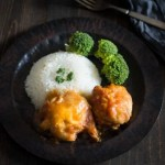 sticky Chinese chicken from slow cooker - All that's Jas