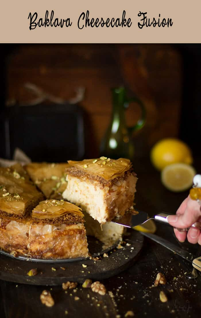 Baklava Cheesecake Fusion - All that's Jas