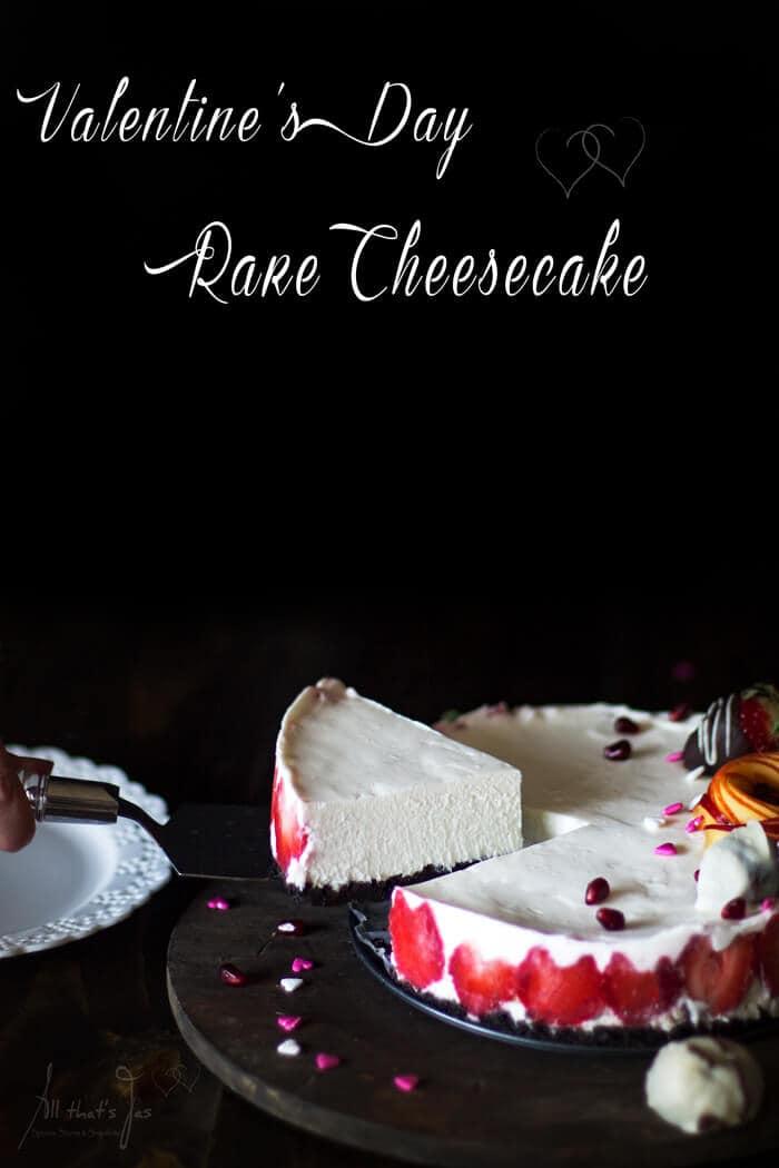 Valentine's Day Rare Cheesecake