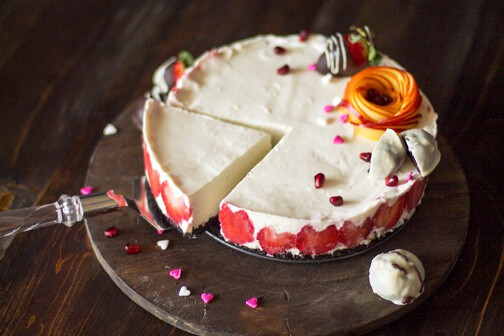 Valentine's Day rare cheesecake - All that's Jas