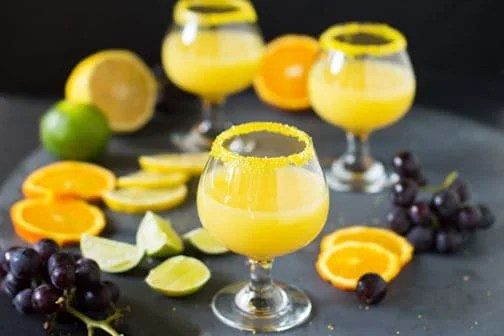 Florida Citrus Drop Shot in 60 Seconds #FoodBloggers4FL