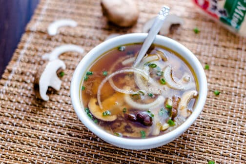 Japanese Onion Mushroom Soup | All that's Jas