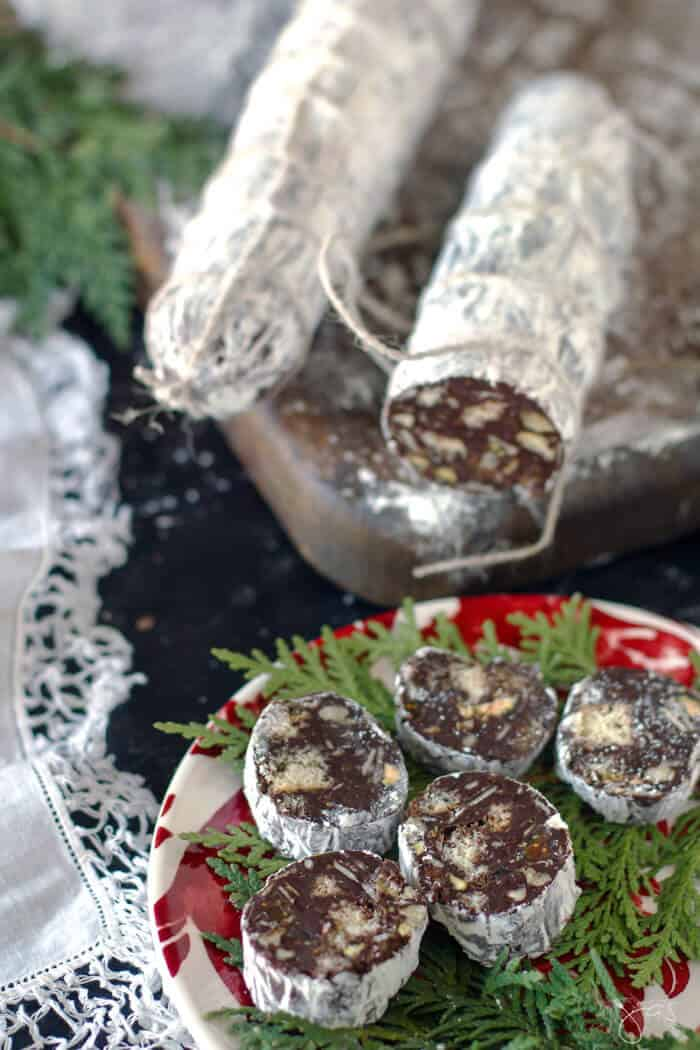 No bake Christmas cookies with